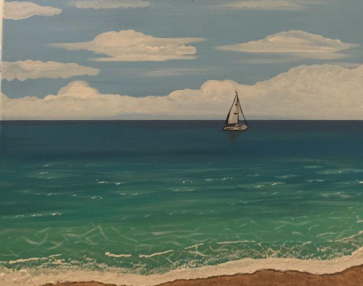 Sail with me - Adriana Jensen
