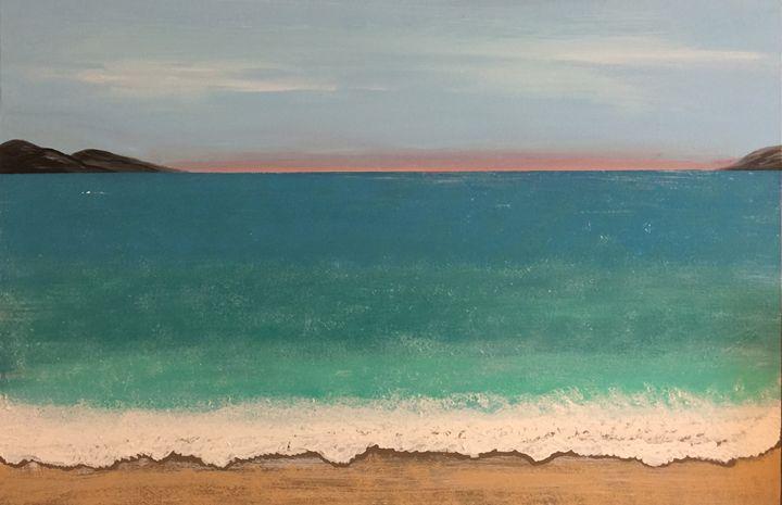 Sunrise beach - Adriana Jensen