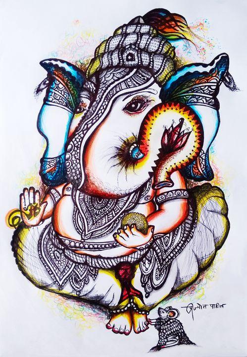 गजवक्र - Prajyot Patil Art