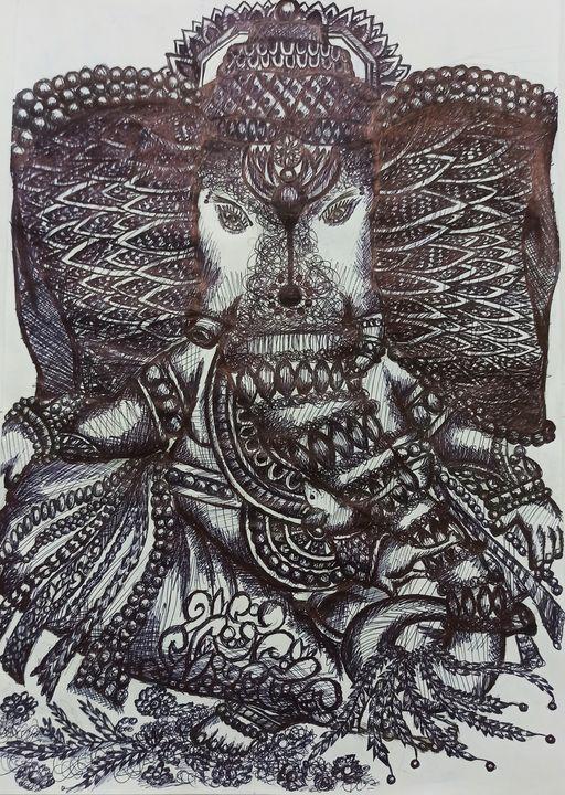 Bappa - Prajyot Patil Art