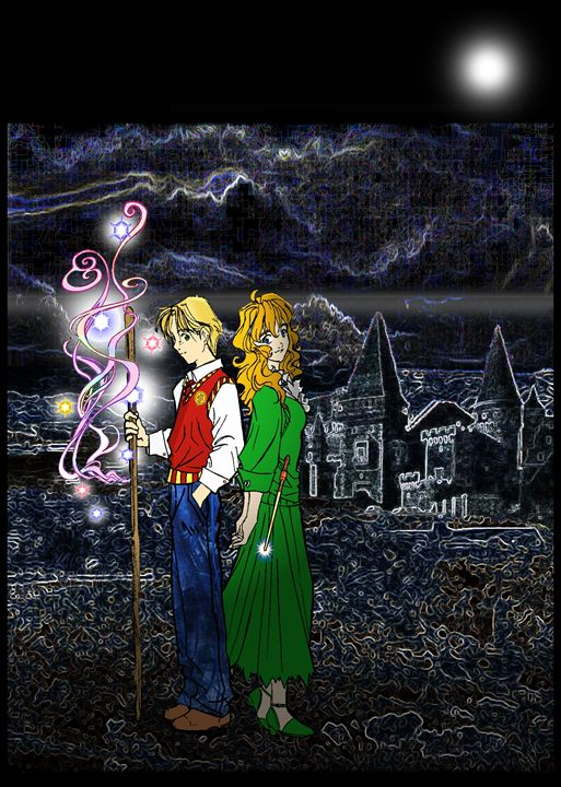 Corwyn and Mazie at Killiecrankitt - Wonderland
