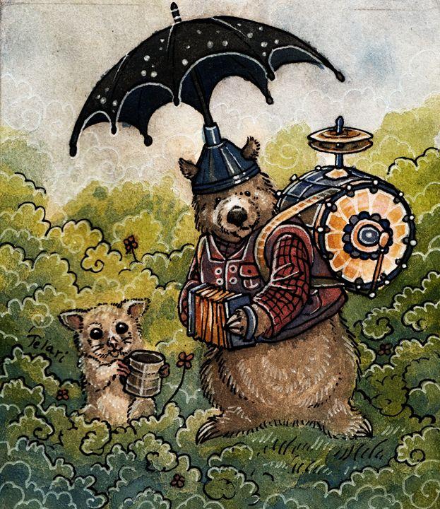One Man Band Wombats - Wonderland