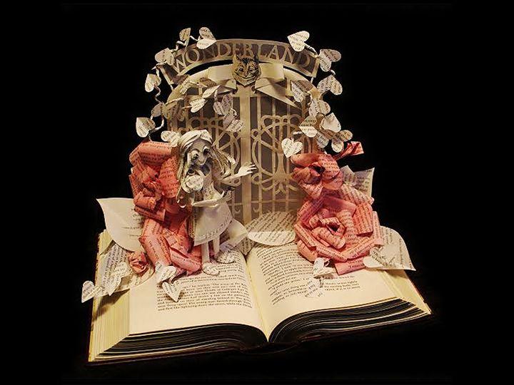 Alice  at the Gates of Wonderland I - Wonderland