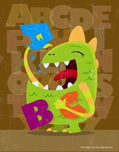 ABC Munch Monster - 5 Fingers Creative