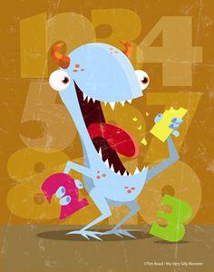 123 munch monster - 5 Fingers Creative