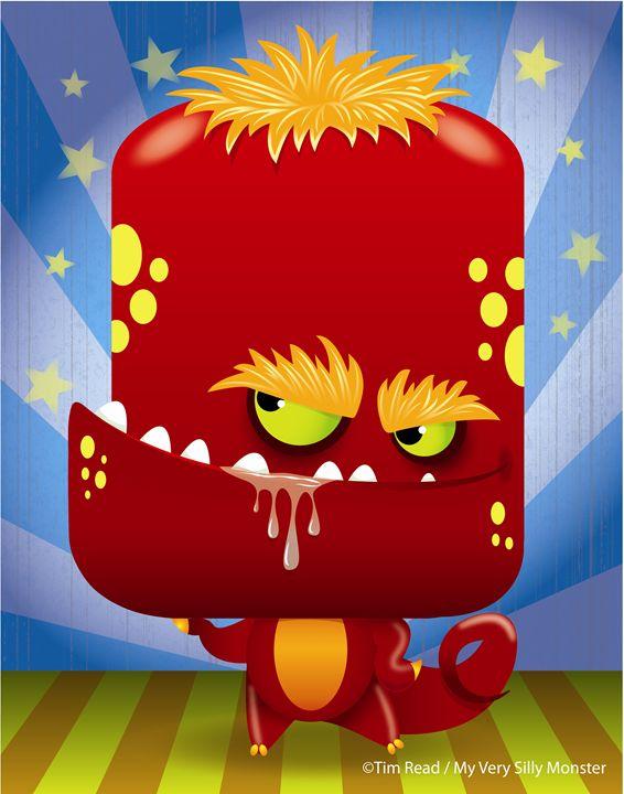 Slobber Monster - 5 Fingers Creative