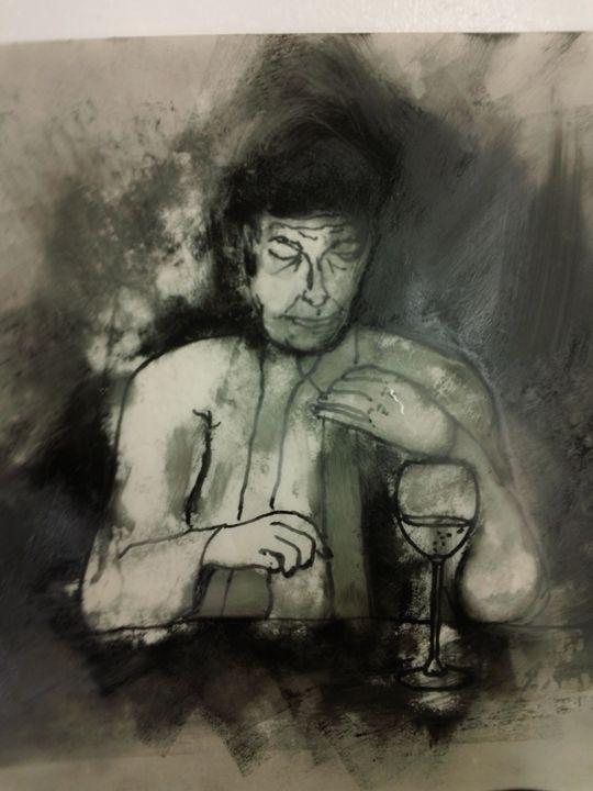contemplation - Nervous Circuits Fine Art