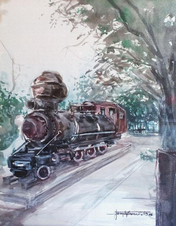 good old train - Jose Benedicto