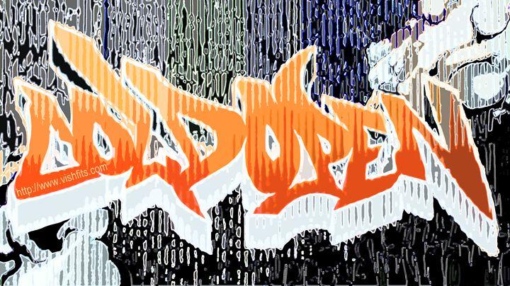 Grafik Graffiti - vishfits
