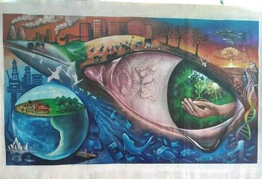 Global Warming - New Guinea Art