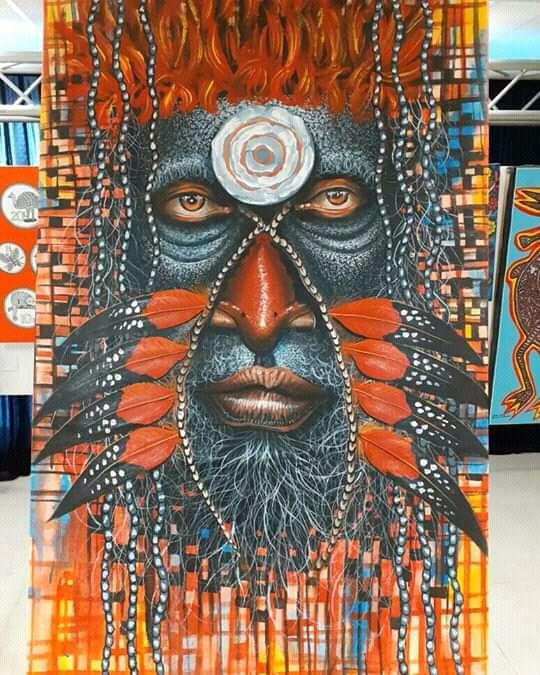 Tribal Warrior - New Guinea Art