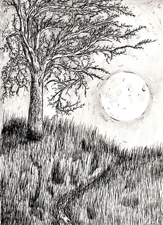Moon's Ascendance - Dom's Ink Studio