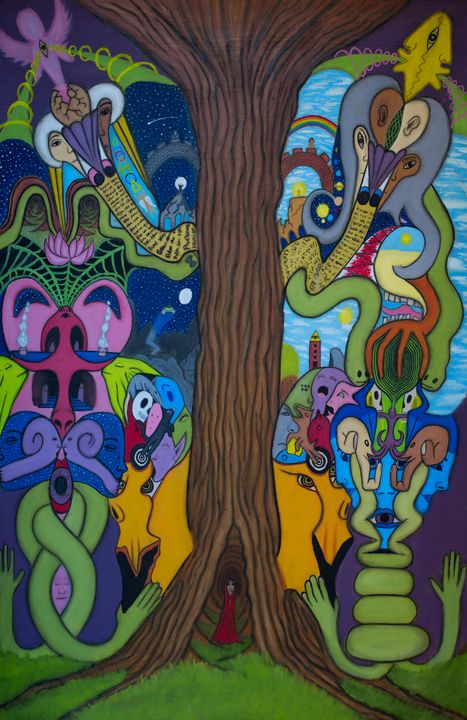 Secret meadow of the all seeing tree - The vision of Tasan Lucida