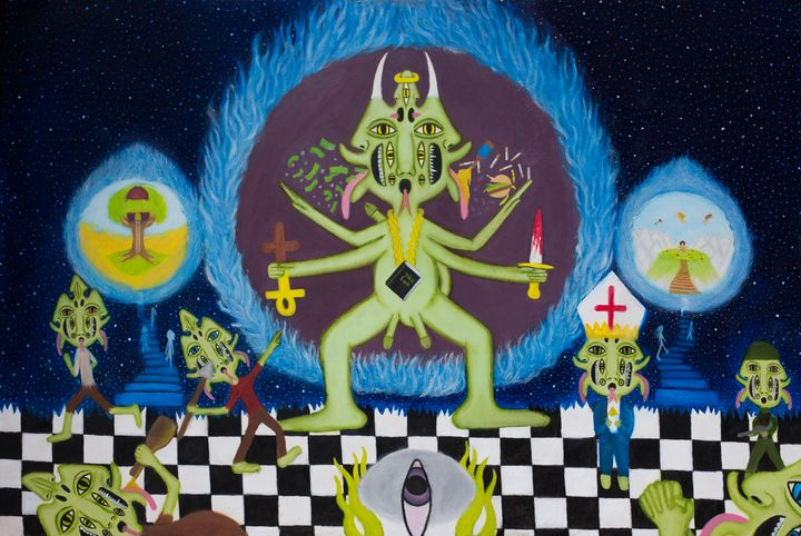 Dweller on the threshold - The vision of Tasan Lucida