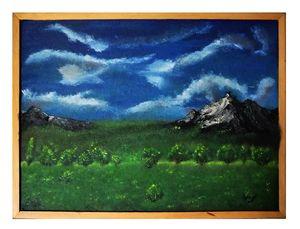 Dark mountain land