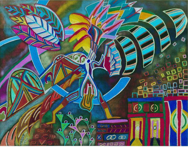 Danse du totem - Eric RENAUD
