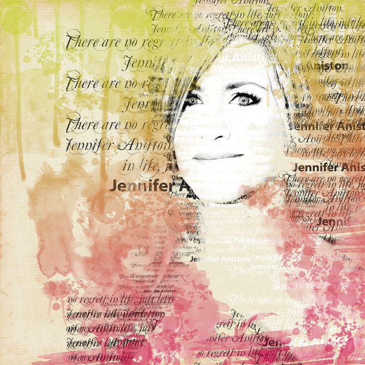 Jennifer Aniston - Jabeen's Art