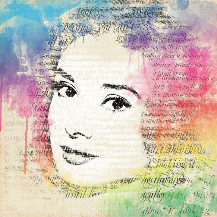 Audrey Hepburn - Jabeen's Art