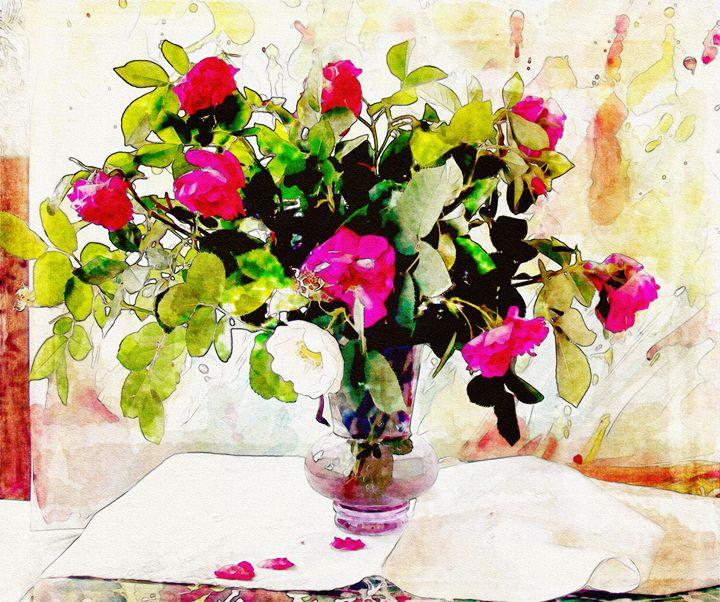 Roses - Jabeen's Art