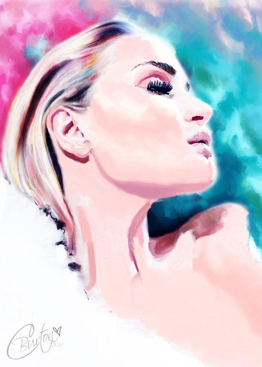 Rosie Huntington-Whiteley - Christina Art