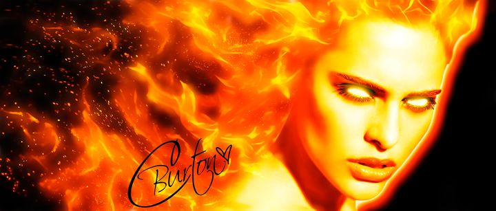 Fire Goddess - Christina Art