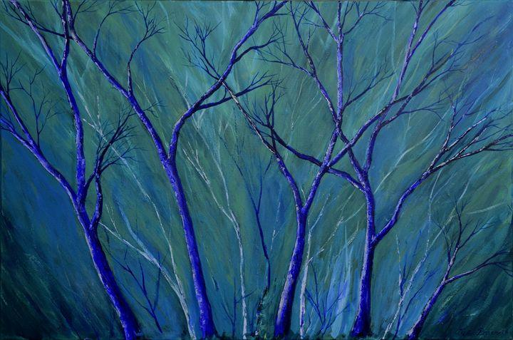 Aqua Forest - Alexis Baranek Art