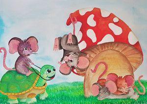 Four Happy Mice