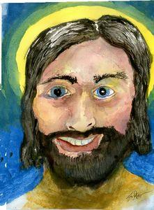 NEW SMILING JESUS