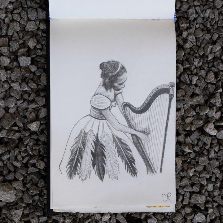 Le Rêve De La Harpiste - ThatHumanNamedJames