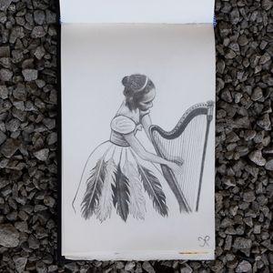 Le Rêve De La Harpiste