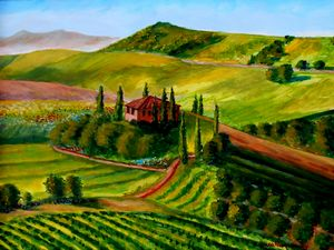 Colors of Tuscany