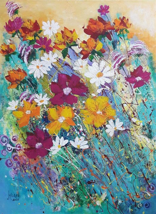 A plouat cu flori - Mariana Oros