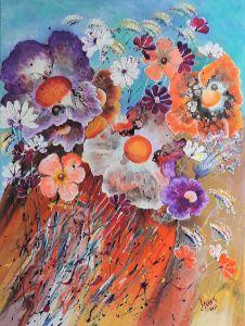 Gradinuta cu flori - Mariana Oros