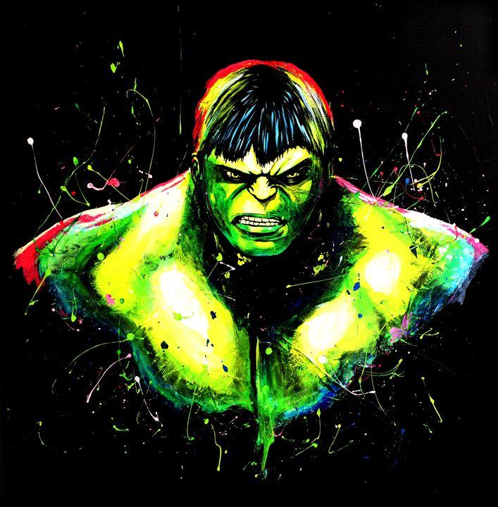 Incredible Hulk Unleashed - Renken's Art and Design