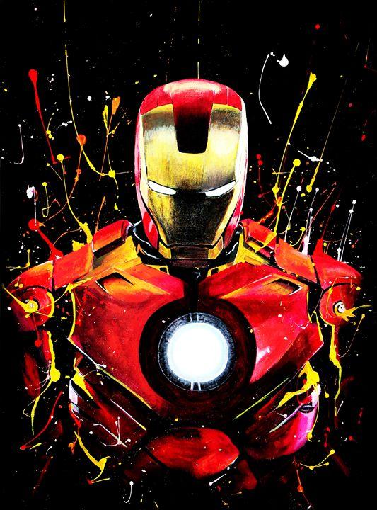 Ironman Unleashed - Renken's Art and Design