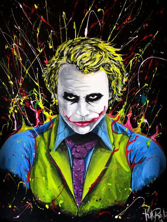 Joker Unleashed - Renken's Art and Design