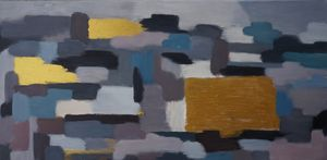 Square Abstract Painting