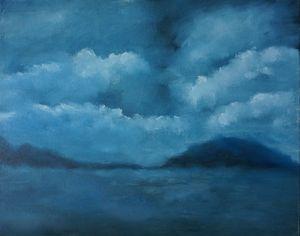 Monochromatic Oil Painting