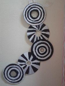 zebra wall hanger