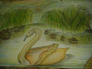 lake of golden Swan - Sydney gonzalez