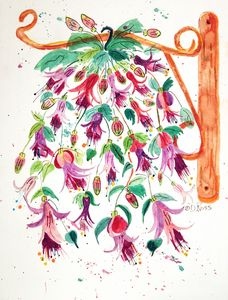 Hanging Around - Whimsical Watercolor Paintings & Photography