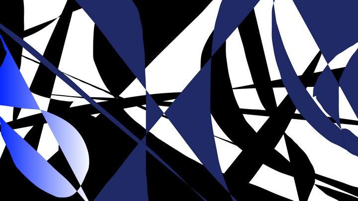 Moody blue - Art by Herum