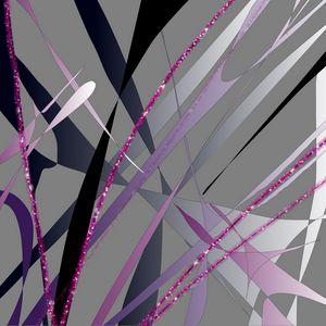 Abstract metallic