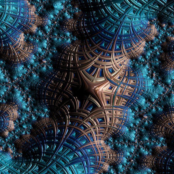 Space fractals - Art by Herum