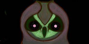 Ice scream owl