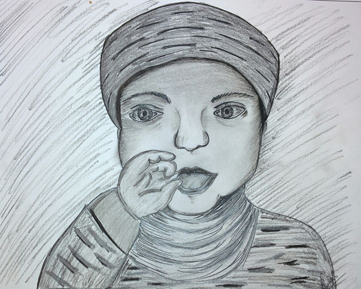 Hello Baby - shalini's art