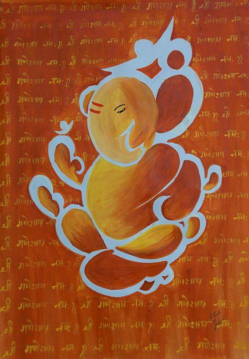 Ganpati Bappa Morya - shalini's art