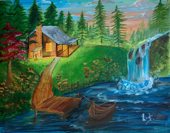 Idea of Heaven - shalini's art