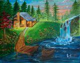 18x18 inch Acrylic on canvas