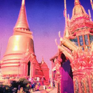 The Grand Palace in Thailand - Empire State Studios NYC